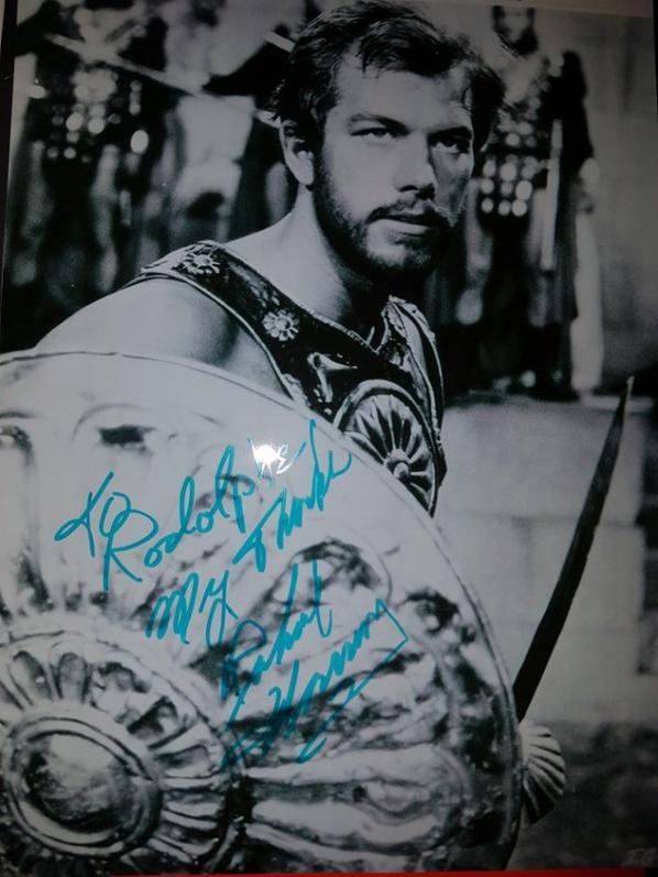 Richard Harrison (Les Sept Gladiateurs, Le Gladiateur invincible, Avec Django la mort est là)
