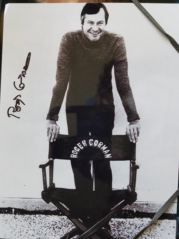 Roger Corman (La Petite Boutique des horreurs, L'Enterré vivant, Les Anges sauvages)