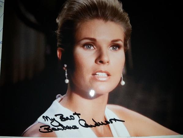 Barbara Anderson (Mission impossible, L'homme de fer, Night Gallery)