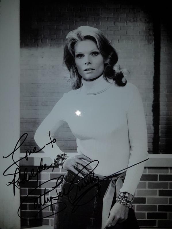 Cathy Lee Crosby (Nord et Sud, La grande traque, Le Flic ricanant)