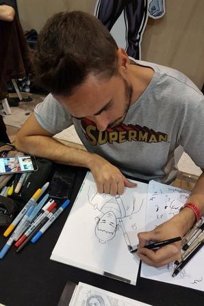 Miguel Mendonca - Dessinateur (Rey dans Star Wars)