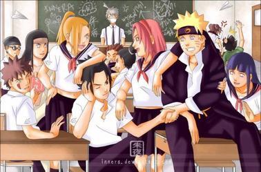 Manga à l'école ....