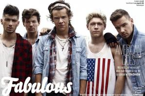 Photo shout des 1D pour le magasine Fabulous (1)