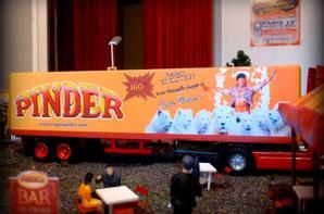 Remorque Lions Blancs Frédéric Edelstein cirque Pinder - transport cages