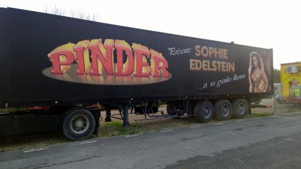 Pinder Paris 26 décembre 2014