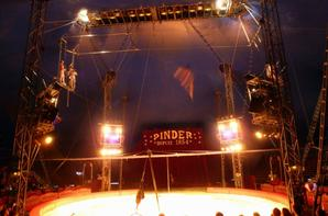Spectacle Cirque pinder 2015