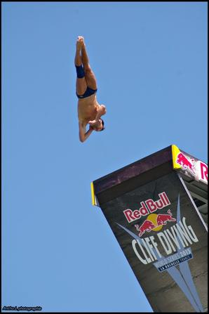 Shoot au red bull cliff diving 2015 a la rochelle