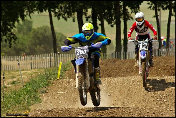 Moto cross Championnat de France MX1 saint jean d'angely  2015