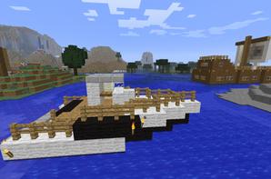 Petit et gros bateaux.