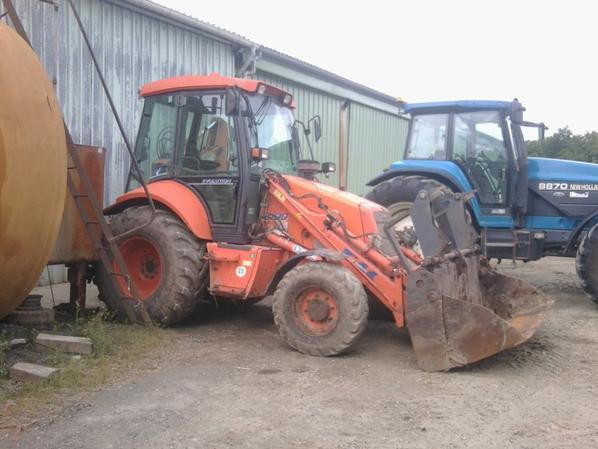 les tracteur de mon patron