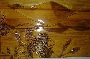 sculpture création linda Tatatron !! sculpté au cutter !!