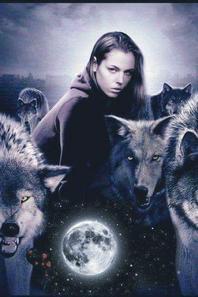 Loups et indiens