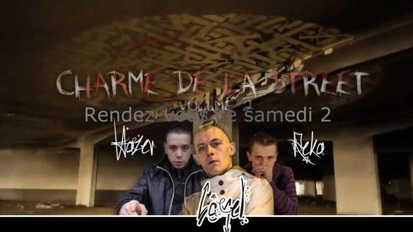 """projet pour le concept rap  """"charme de la street """" vol 2"""