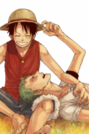 Je voulais changé donc c'est Zoro et Luffy