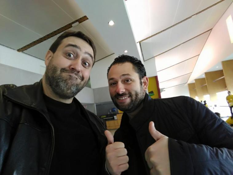 Senyu 2017 avec Julien Tellouck de la Teamg1