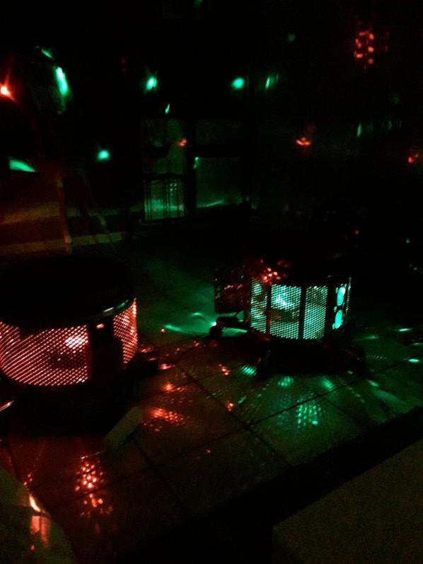 pouf boite de nuit  , musicale