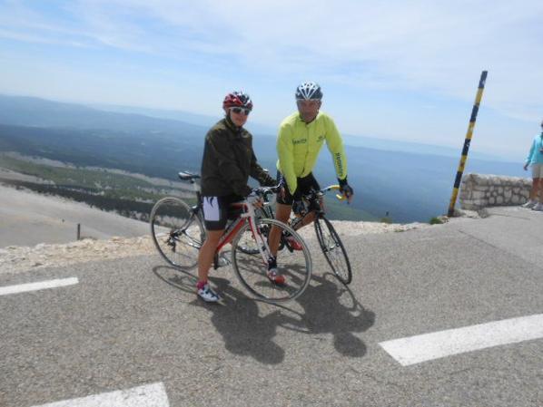 L'Ascension du Mont Ventoux par Vincent et Alicia