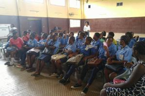 Training on Menstrual Hygiene in Douala