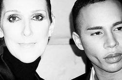 Céline et la rencontre avec Olivier Rousteing... de chez Balman