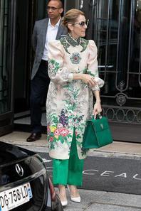 Céline vient de quitter son l'hôtel à Paris, direction Lille, où elle fera le deuxième spectacle ce soir ! 02/07/17