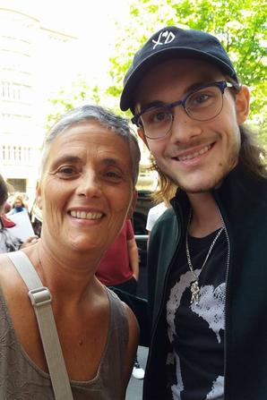 Petit selfie avec René Charles encore cet apres midi :)