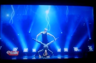 Même les émissions en Amérique veulent faire le buz avec Céline et son danseur !! c'est nul