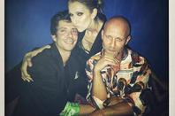 Céline Dion était hier soir le 21 juillet 2017 au Manko Cabaret, Paris. ✨ Je pense que Céline et son ami et danseur pepe ont du bien rigolé !! :)