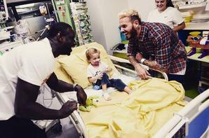 CéKeDuBonheur visite à l'hôpital