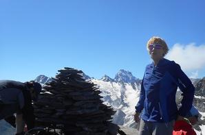 Rando du 22 Juin dans le Queyras, crête et pic de Praroussin 2675m.