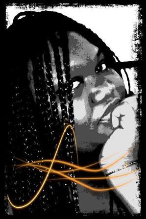 je m ennuis alors je fait des photo en blanc noir tjr avec le souriiiii