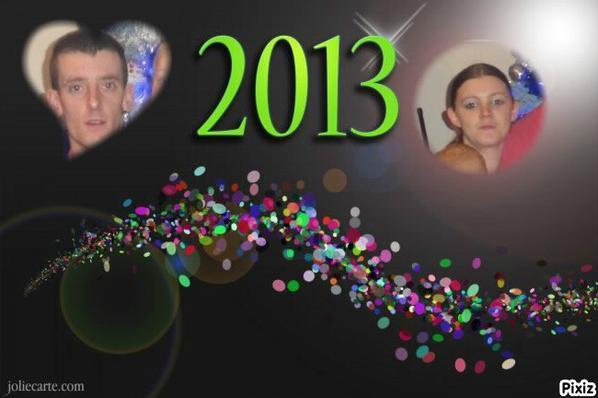 bonne année 2013 a tous les amie