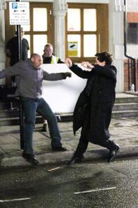 Photos tournage La Chute du Reichenbach