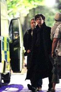 Photos tournage La Chute du Reichenbach 2