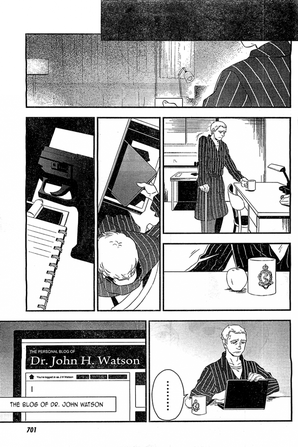 En manga...
