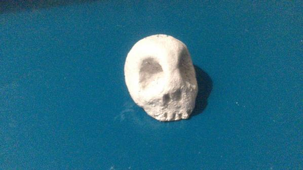 J'ai un crâne !