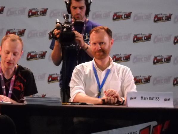 Dédicace de Mark Gatiss - Comic Con' Paris 2013
