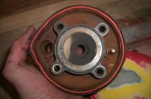démontage du moteur pour pièce (tzr)