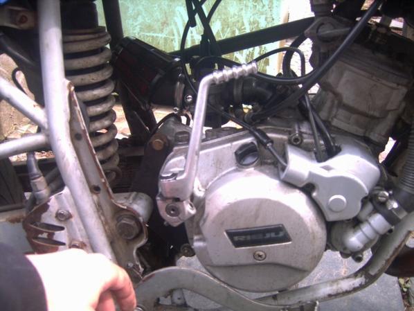 moteur plus démontage pignon pompe a huile