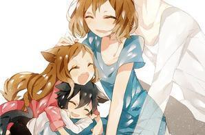 Les enfants loups , Ame et Yuki