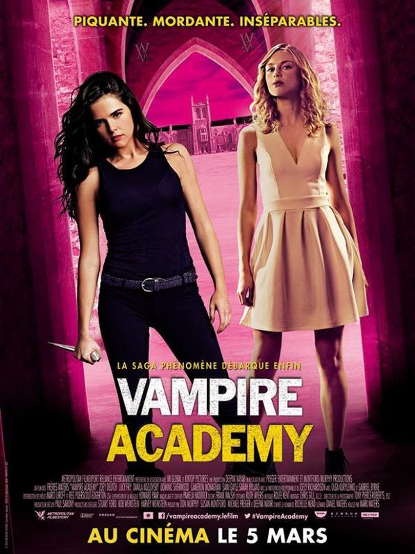 #VAMPIREACADEMY 2 nouvelles affiches Françaises