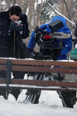 #RobertPattinson #Live les premières photos de tournages