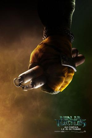 #NinjaTurtles affiches personnages (allez-vous les reconnaître ?)