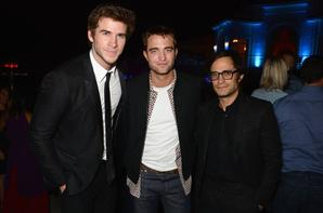 Quelques photos de Rob et Liam Vanity Fair et Armani Party le 17 mai ! Via @LeRPattzClub