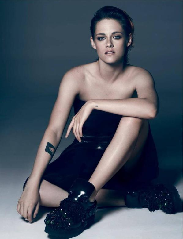 Kristen Stewart et Juliette Binoche shoot pour le magasine Allemand Interview