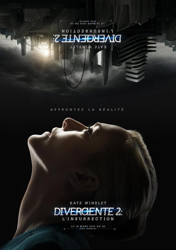 #NEWS #Divergente2 L'insurrection les posters personnages