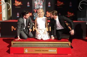 #TheHungerGames Jenn, Josh et Liam immortalisés !