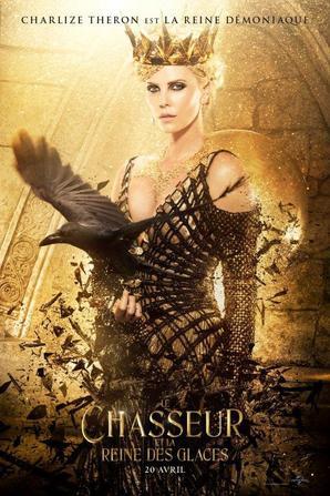#NEWS la suite de SWATH (Blanche neige et le chasseur) Le chasseur et la reine des glaces, les premiers posters personnages et le synopsis du film !