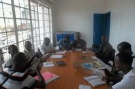 Résidence BD à l'institut français de Bukavu