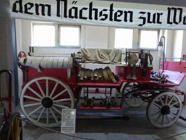 museum feuerwehr schwerin les pompiers allemand côté pays de l'Est