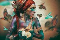~ La beauté au-delà des convenances social,ce qui ne parle pas est orale...